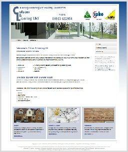 Colson & Loaring Builders Website, Northamptonshire
